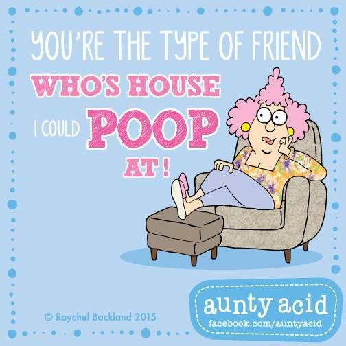 Friendship <3 #AuntyAcidsLoveShack