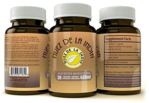 Nuez De La India Pills - Weight Loss and Colon Cleanse - 100% Extract for Men and Women - Supplement Super Powerful in the Market By Todorganic - Get a free shipping if you order 2 pcs! Todorganic Natural Products http://www.amazon.com/dp/B0186F1AE0/ref=cm_sw_r_pi_dp_wFL9wb11BHNKF