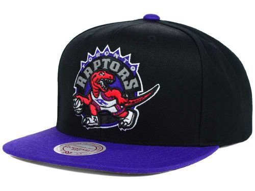 Toronto Raptors Mitchell and Ness NBA Team Color Reflective Snapback Hat Hats