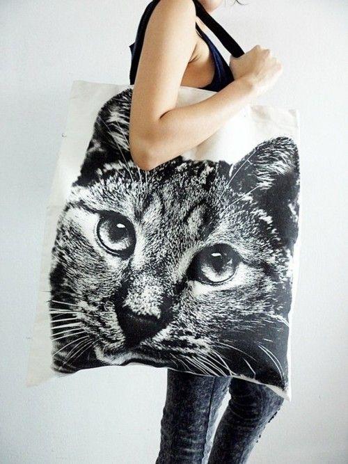 Giant cat bag.