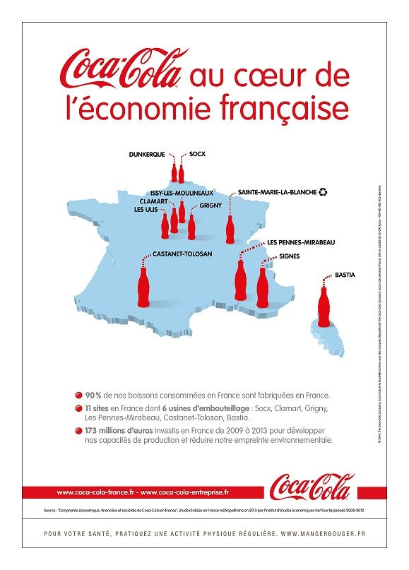 Coca-Cola lance sa com made in France - Campagne de pub - l'ADN