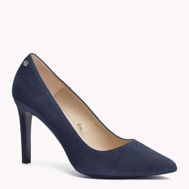 Tommy Hilfiger Suede Pump - midnight (Blue) - Tommy Hilfiger Pumps - main image