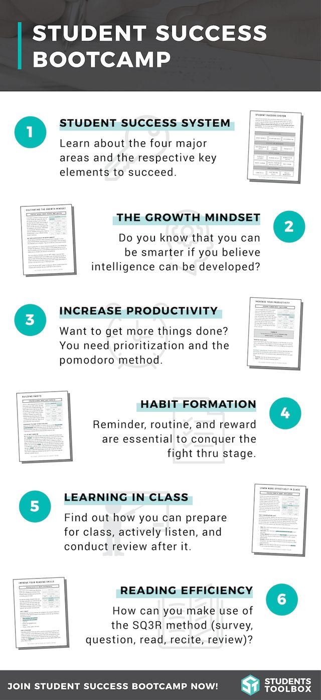 Student Success Bootcamp: Want to study smarter and be more productive? Join the free online course on Students Toolbox!