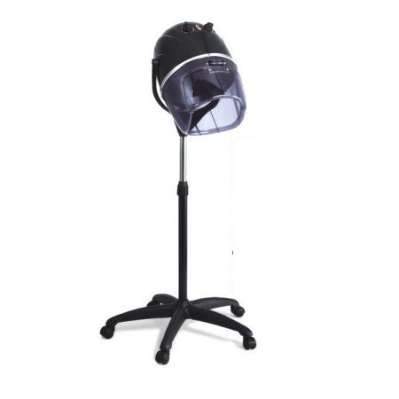 Ovente 3 Speed Professional Ionic Hair Dryer Stand, Black (HDS223B)