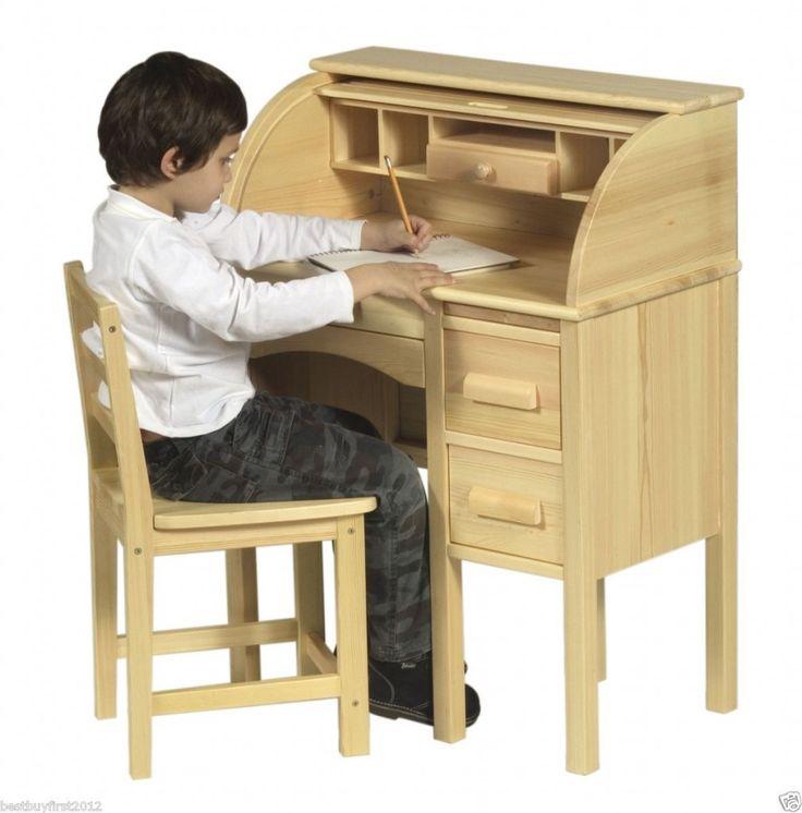 Kids Roll Top Desk