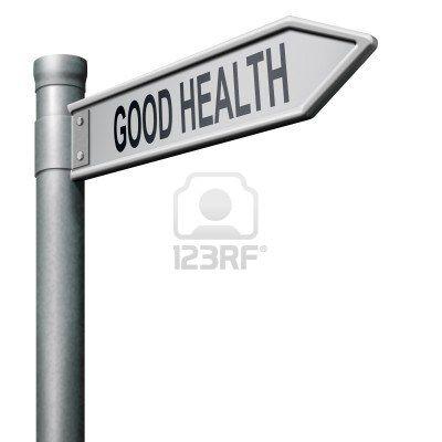 gezond leven weg naar goede gezondheid en vitaliteit energie gezonde geest en lichaam Stockfoto - 8406547