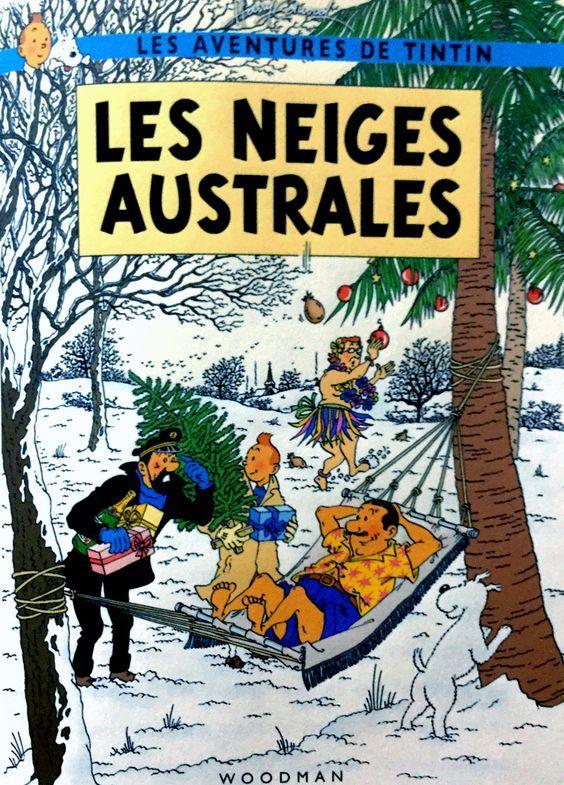 Les Aventures de Tintin - Album Imaginaire - Les Neiges Australes