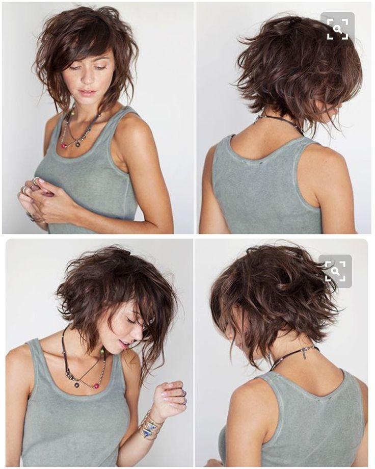 25 best ideas about Layered wavy bob on Pinterest  Shorter hair