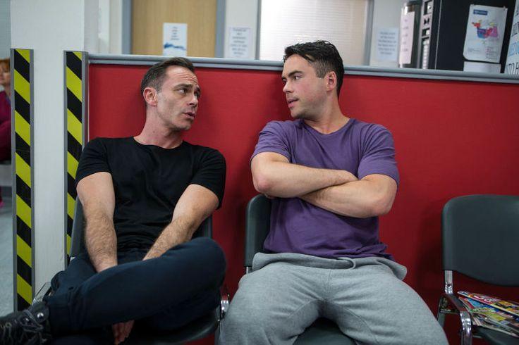Billy Mayhew (Daniel Brocklebank) & Todd Grimshaw (Bruno Langley) (September 2016)