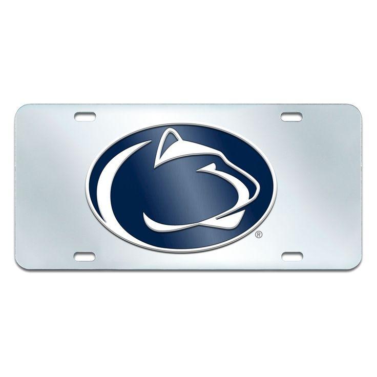 NCAAPenn State Nittany Lions FanmatsAcrylic Inlaid License Plate Frame, Penn State Nittany Lions