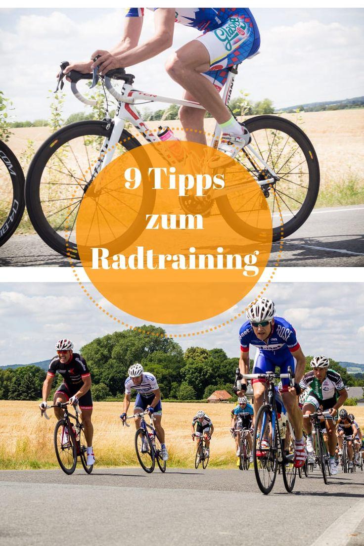 9 einfache Training-Tipps mit denen ich schneller Fahrrad fahre.