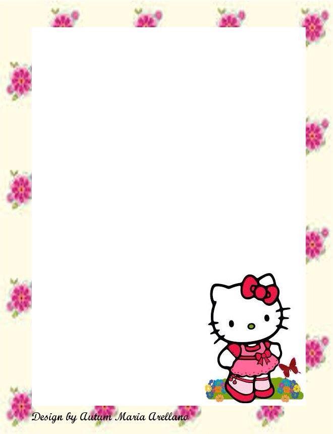 Pin By เพื่อน ตลอดกาล On Frame Vertical Hello Kitty