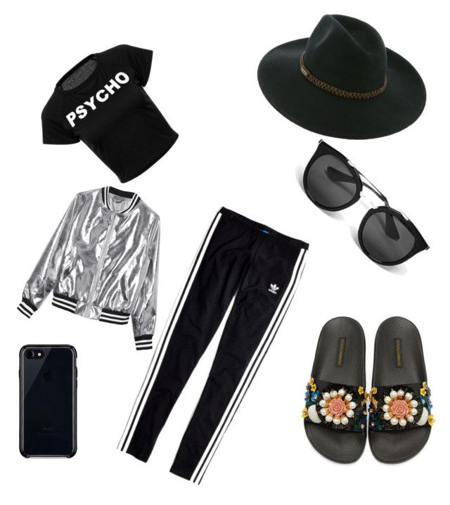"""👌🏼"" by iuliacalin on Polyvore featuring Billabong, Belkin, Prada, Madewell, Sans Souci and Dolce&Gabbana"