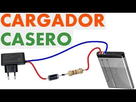 192b568d715 Cargador de batería de celular (Muy fácil de hacer) | ELECTRÓNICA ...