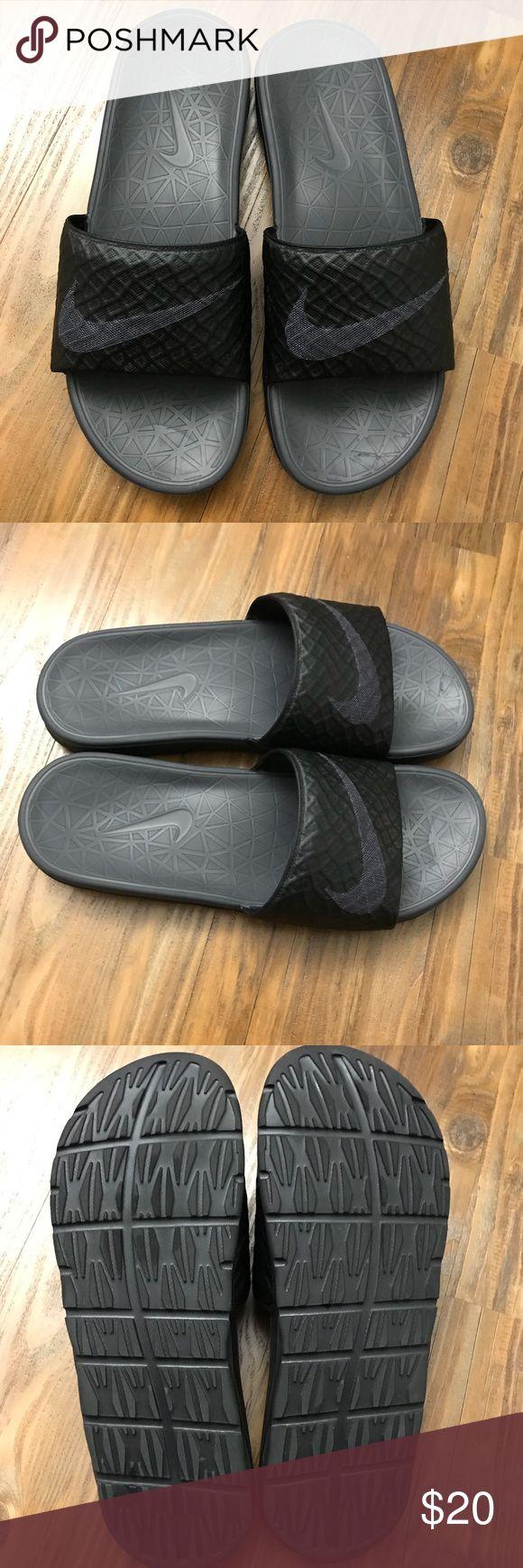 Men's Nike Slide Like New.   Nike Benassi Slide 2  Great condition. I am selling the slides only, as I no longer have the box. Nike Shoes Sandals & Flip-Flops