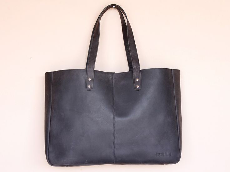 Black Leather Shopper Tote Bag https://www.scaramangashop.co.uk/item/8026/90/Gifts-For-Women/Black-Leather-Shopper-Tote-Bag.html