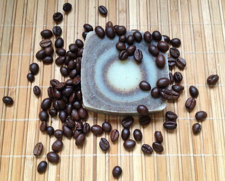 Kávés-lanolinos szappan