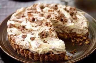 Galaxy Cookie Crumble Cheesecake