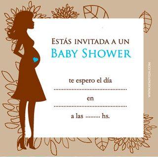 Tarjeta de Baby Shower de varón para imprimir
