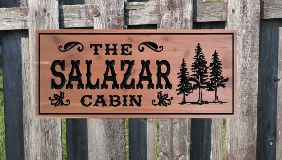 17 best images about cabin signs on pinterest camps for Cabin signs wood
