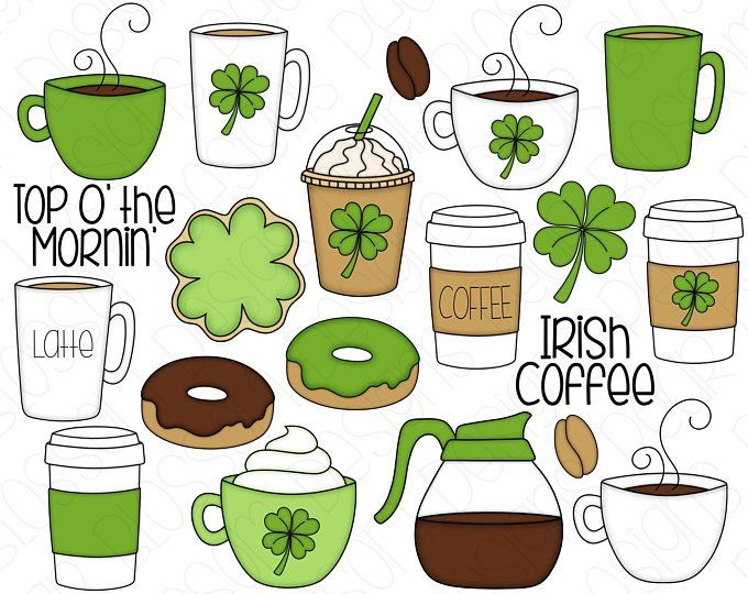 Gingerbread Latte Hand Drawn Digital Clipart Set Of 20 Etsy In 2020 Clip Art How To Draw Hands Digital Clip Art