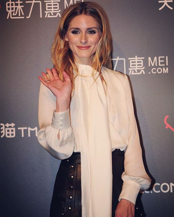 Olivia Palermo in Shanghai on March 30, 2016