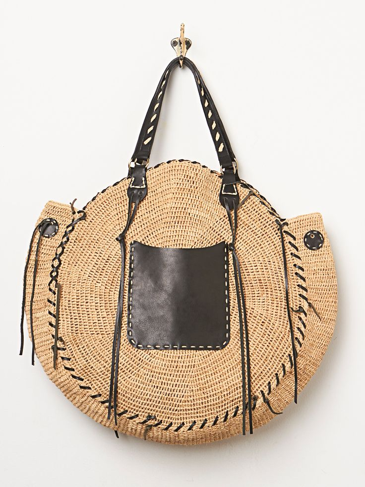 Sans Arcidet Red Crow Bag
