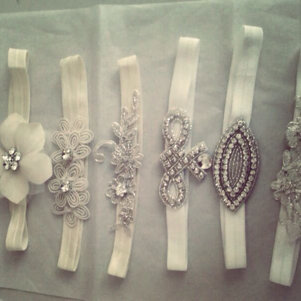 feeling inspired to diy these Crystal headbands