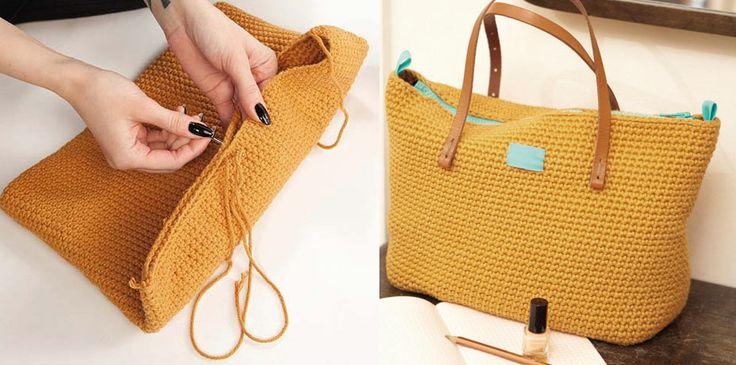 En snygg och användbar väska är ett måste under vår och sommar. Här är en avancerad modell som fått sin inspiration från den klassiska Longchamp-väskan.