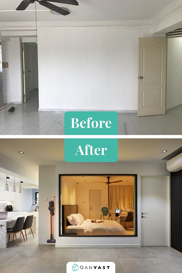 How 5 Homes Went From Plain To Perfect In This Article We Ve Gathered 5 Stunning Examples That Show Exactly Wha Home Master Bedroom Interior Home Renovation
