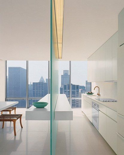 White Interiors : Architecture + Design : Architectural Digest