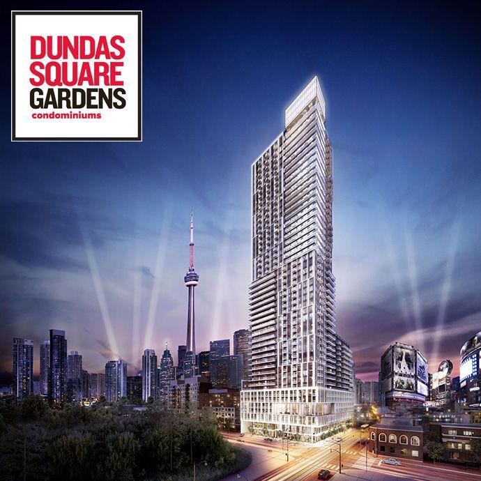 #Toronto Dundas Square Gardens http://www.torontocondoonly.com/