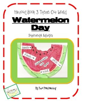 Watermelon Day Activities