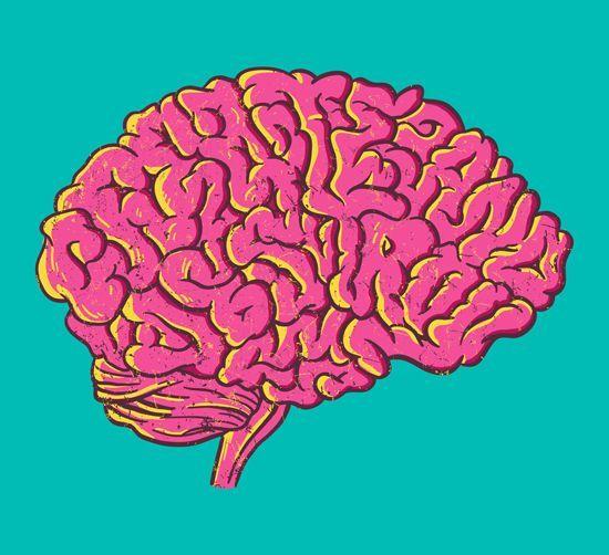 brain illustration typography - Google Search