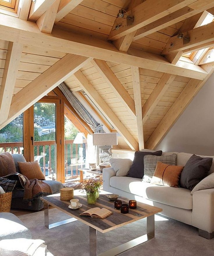 Attic Interior Design   Small Cottage Sweet Life
