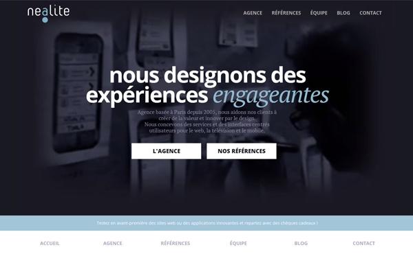 Nealite - Agence spécialisée en design d'expérience utilisateur