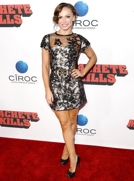 Karina Smirnoff Nip Slip at Machete Kills Premiere: See the Picture! - Us Weekly