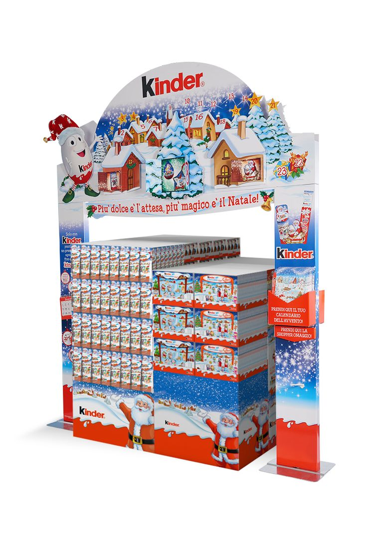 POPAI Awards Paris 2016 - KINDER CHRISTMAS	FISADORELLI - FERRERO #MPV2016