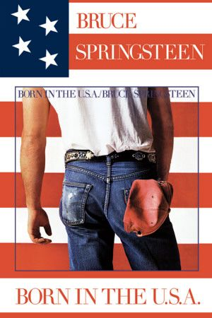 Bruce Springsteen (Born In The U.S.A.) Plakat