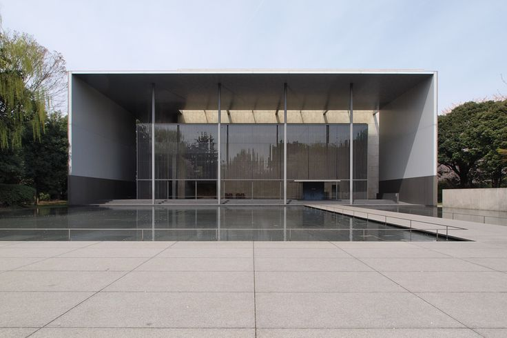 "Prize of AIJ for Design 2001 ""The Gallery of Horyuji Treasures, Yoshio Taniguchi, Taniguchi and Associates"