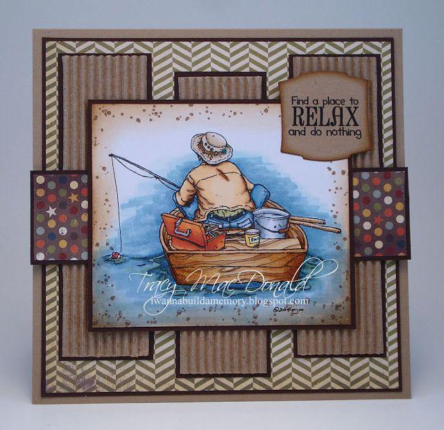 great fishing card by Tracy MacDonald