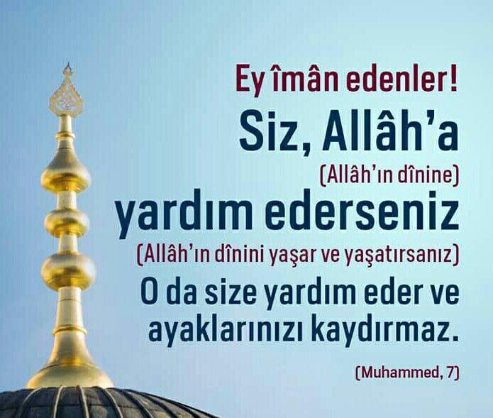 Ey İman Edenler! #iman #islam #yardım #yaşam #hayat #ayet #ayetler #hayırlıkandiller #ilmisuffa