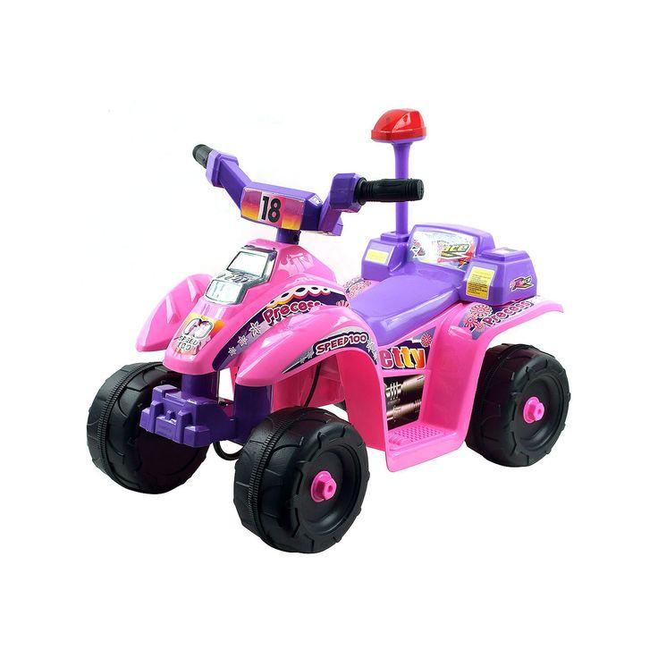 Lil' Rider Precess Four-Wheeler Mini ATV Ride-On, Multicolor
