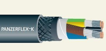 Electric power distribution cable: low-voltage 0.7/1.2 kV AC, ø 76.1 mm² | Panzerflex® K Cavotec