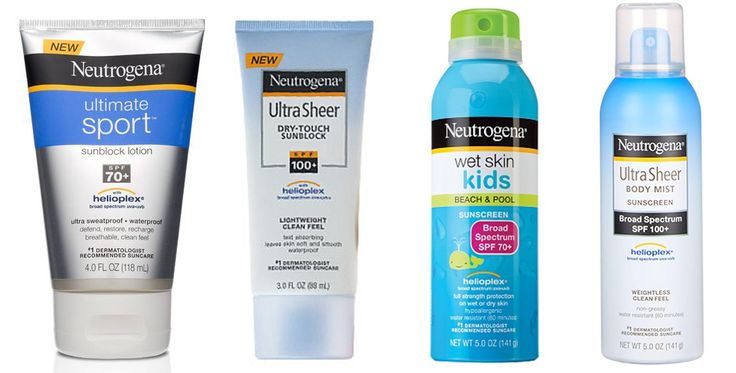 Includes lists of sunscreens that are the best, and which ones to avoid due to bad chemicals.