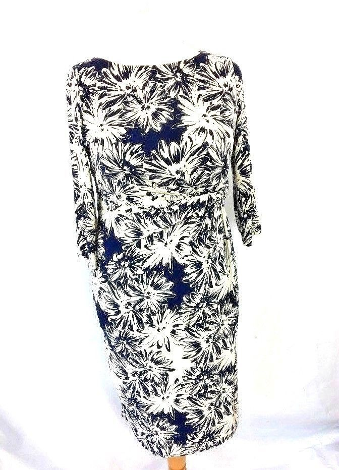 Austin Reed Womens Dress Blue Size 10 M By Appointment To Hm The Queen Uk E3 Fashion Clothing Shoes Mini Dress Clubwear Womens Dresses Bodycon Evening Dress