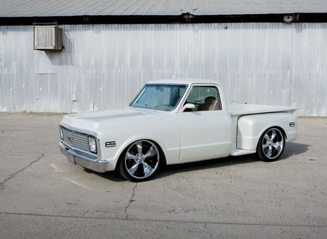 LS Powered 72 Chevy C10 Stepside Nice Rides