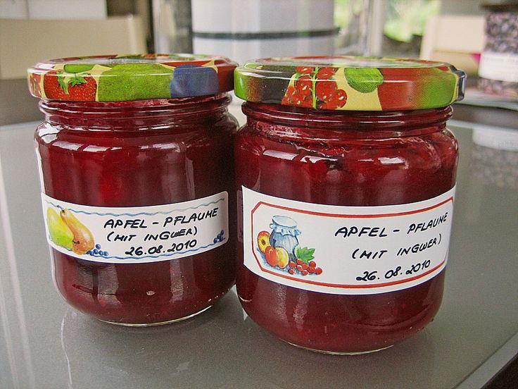 Apfel - Pflaumen - Marmelade, ein schmackhaftes Rezept aus der Kategorie Herbst. Bewertungen: 46. Durchschnitt: Ø 4,4.