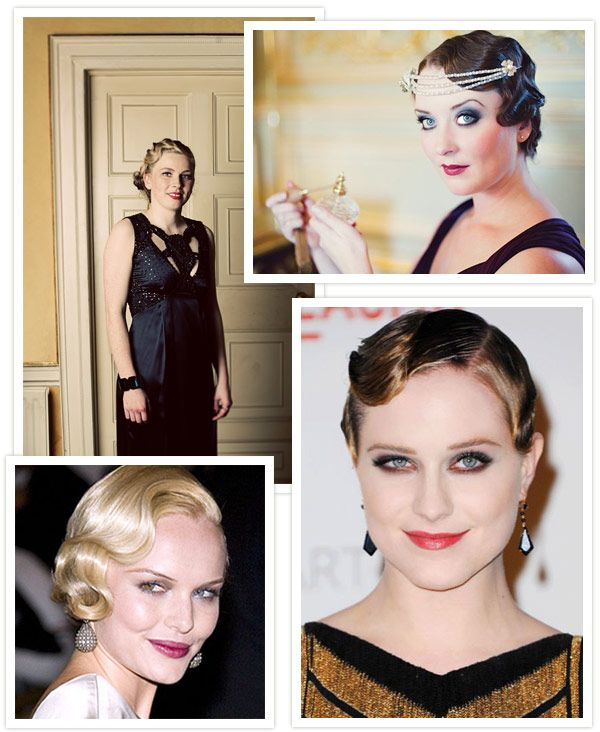 Vintage Wedding Hair - Finger Waves,  Go To www.likegossip.com to get more Gossip News!