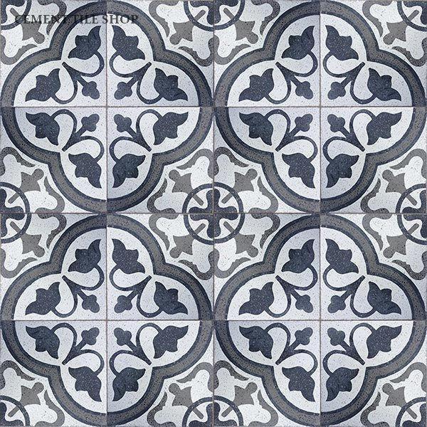 Cement Tile Shop Handmade Terrazzo Cement Tile Roseton